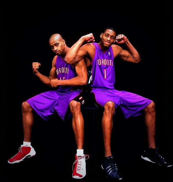 #RareNBAPics RT if you wish they stayed longer together #Vinsanity #T-Mac <br>http://pic.twitter.com/spjkFhQ3xY