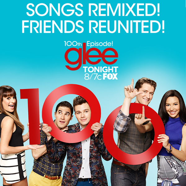 Retweet to show your excitement for Glee's 100th episode! TONIGHT at 8/7c. #glee100 http://t.co/shRoLnWRvb