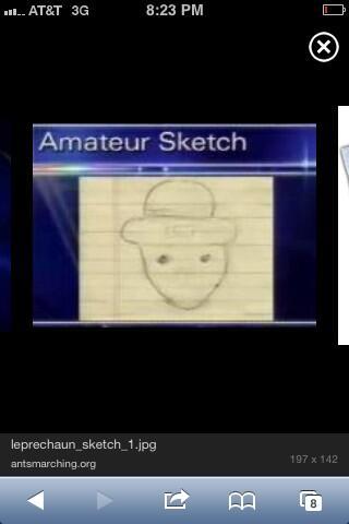 Idea amateur leprechaun sketch