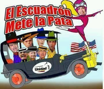 .#Oposición.Venezolana PitiYanki,#Mercenaria,#Arrastrada y VendePatria   .#CNn.#uPi.#uE.#NbC.