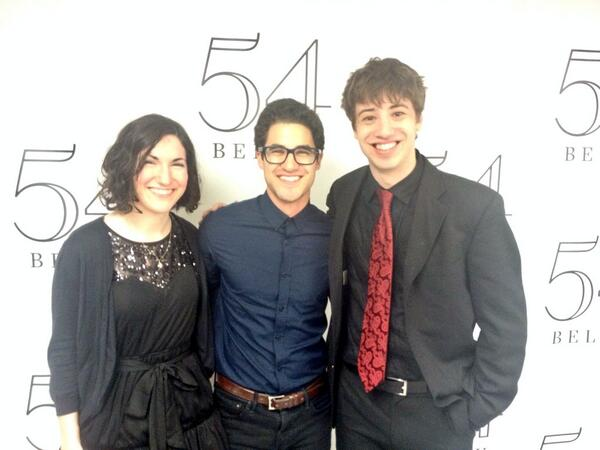 Getting ready for the second show with @Kaley_McMahon and @DarrenCriss #Twistedat54 http://t.co/IHIosVAZMF