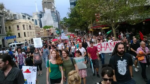 Sydney turns out for #MarchInMarch http://t.co/3elsmdZXVx