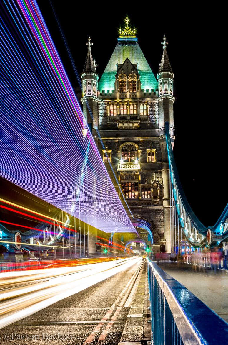 Twitter / zaibatsu: Tower Bridge London with trailing ...
