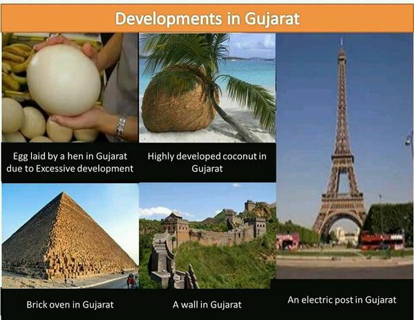Since BJP-bots troll me for supporting #AAP, I've put up pictures of Gujarat's development instead. Very impressive! http://t.co/YcePMOcotT