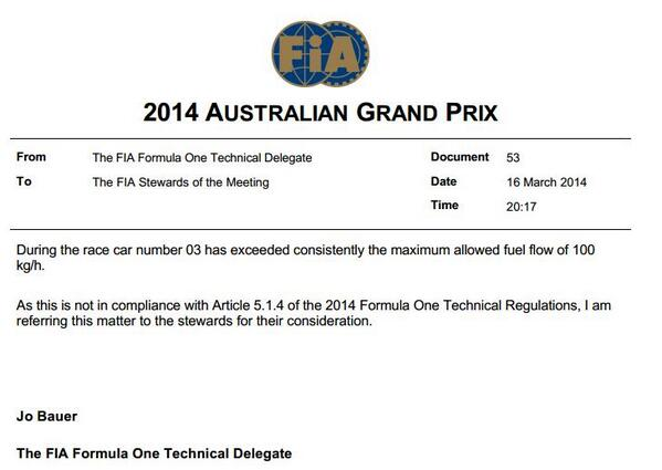 Doesn't look good for Ricciardo http://t.co/PHoc8vtLqA