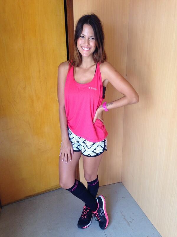 """Luli fue la presentadora de """"Chicas En Bici 2014"""""""
