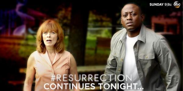 Tonight's the night!  Watch @Resurrection at 9pm|8c on ABC! #Resurrection http://t.co/xFTYJqcHWK