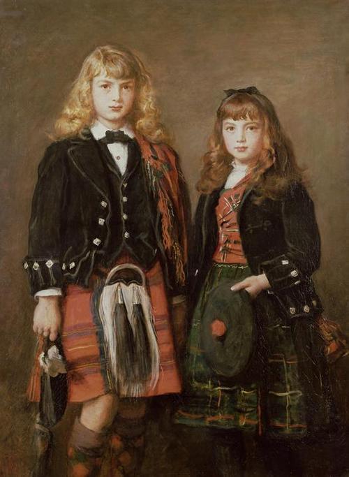 「二人の子ども」制作年不明ジョン・エヴァレット・ミレイJohn Everett Millais, Two Bairns