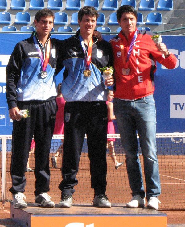 Tenis - Podio Odesur '14 - TRodCouto