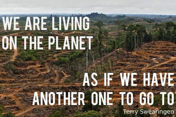 Image result for we are living on this planet as if