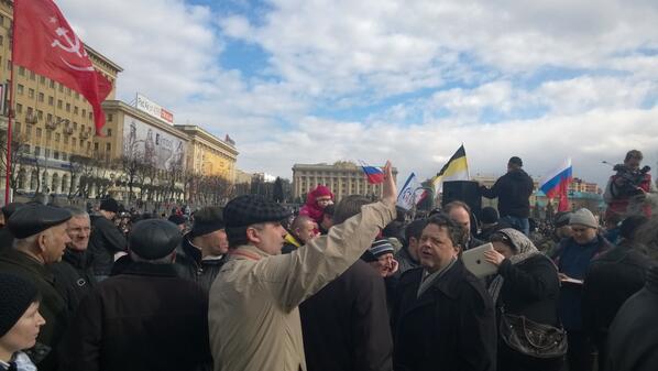 луганск сегодня митинг
