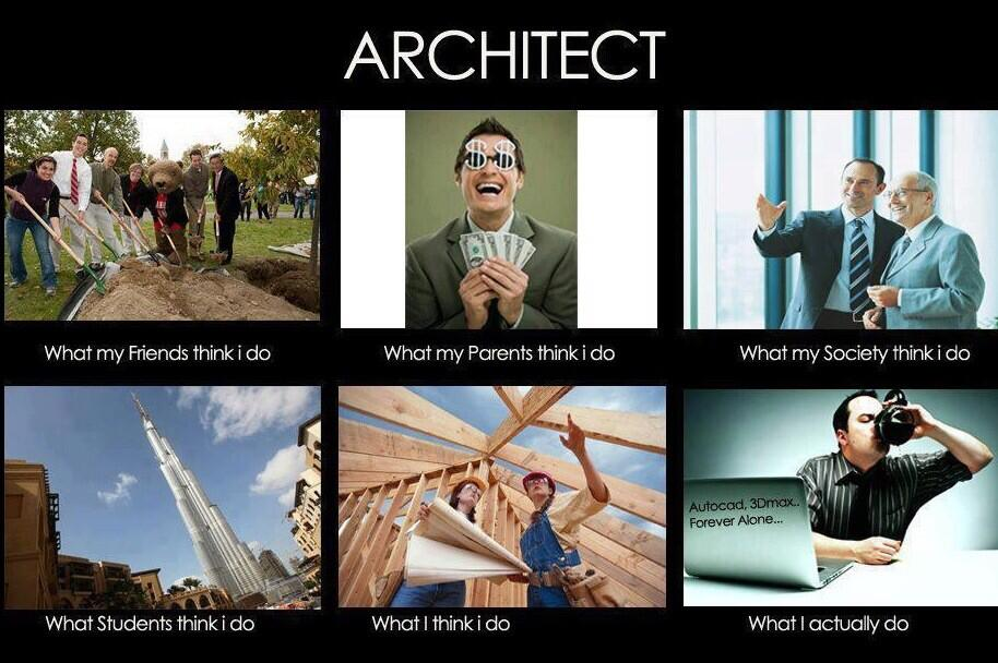 Twitter / Archhdotcom: What architects do? #architecture ...