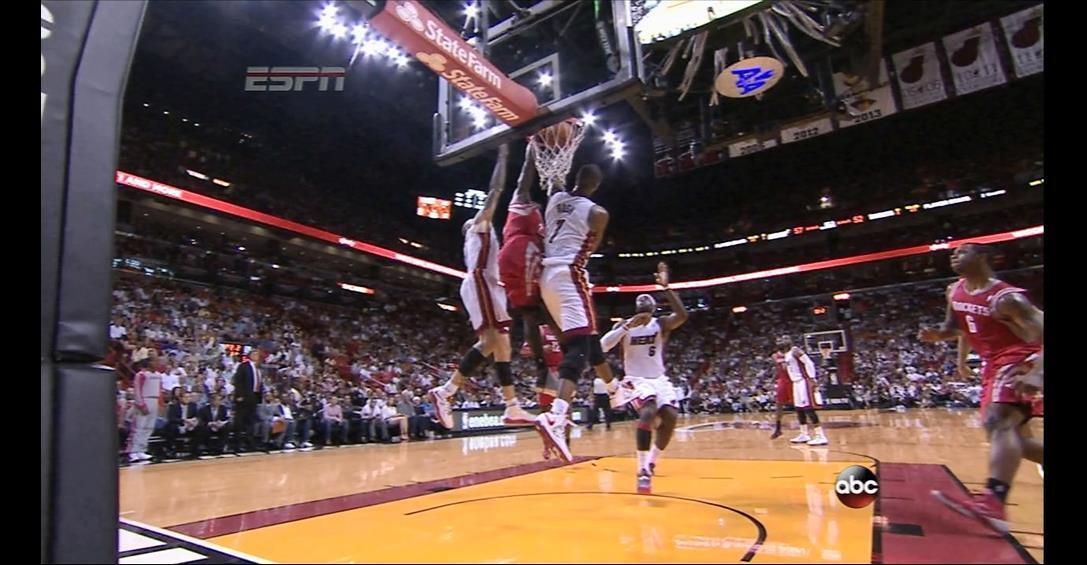 VIDEO: Patrick Beverley crosses over LeBron, dunks on Chris