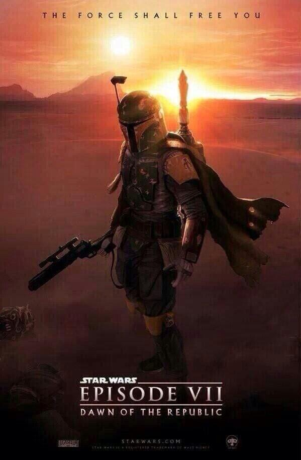 """@mikiewhite: Here is the new poster for the upcoming Star Wars Episode Vll @starwars movie. http://t.co/ogh4x31F2Z"" @mdeaton7"