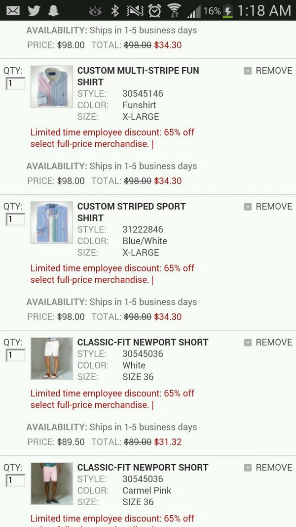 Ralph Lauren Will Honor Most Customer Orders After 65%-Off Employee