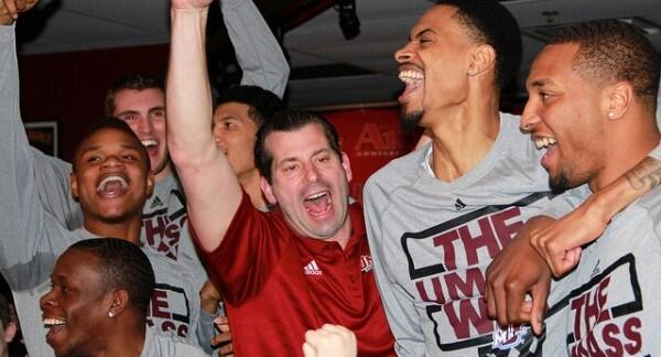 SIXTEEN YEARS IN THE MAKING: #UMass basketball ends NCAA Tournament drought. http://t.co/w1UuOI3sTm http://t.co/pne7dp7sY3