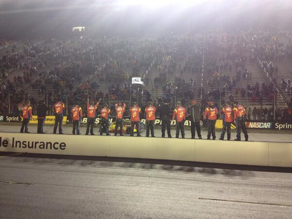 These guys made it possible! The #99 team rocks!!!! http://t.co/POw1PlRgPJ