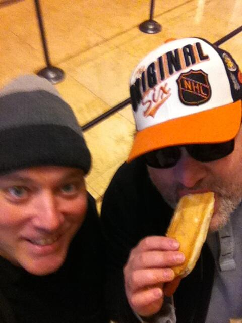 Benjy & @ArtieQuitter together & eating again http://t.co/tFhutOKAky