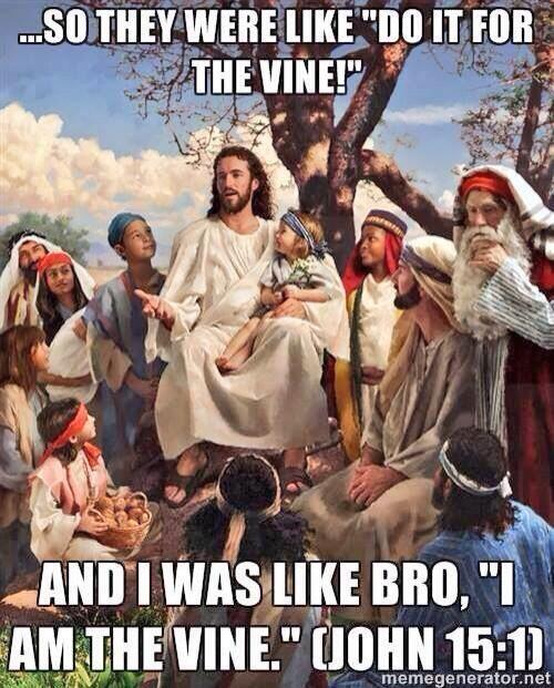 Hahahaha - Good one, Jesus! http://t.co/95VwCyWf5g