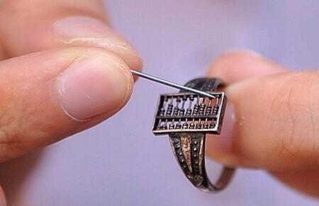 First ever wearable tech? The Chinese Abacus Ring #nestahealth http://t.co/r5AjgvxOd6