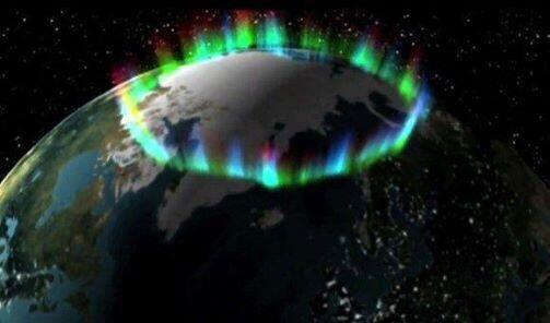Twitter / SpacePornx: the northern lights from space ...