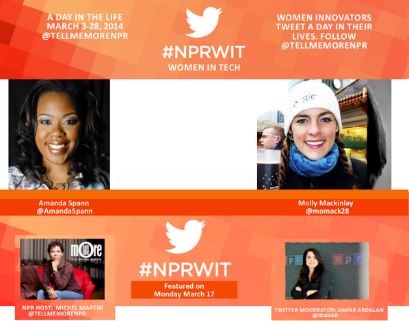 Thumbnail for #NPRWIT March 17: Amanda Spann & Molly Mackinlay
