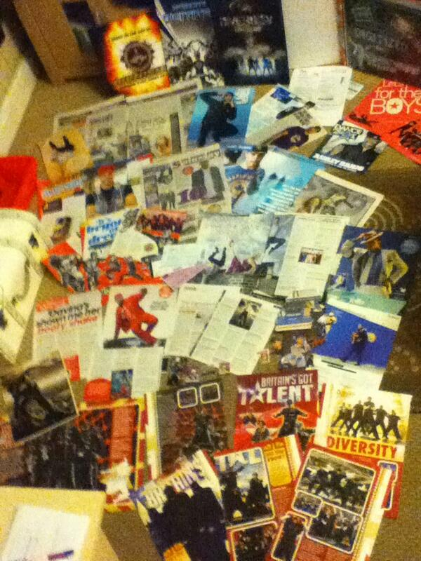 my mag clippings collection of @Diversity_Tweet @AshleyBanjo is quite impressive #impressdiversity #notobsessedhonest http://t.co/R8e2v2dyzq