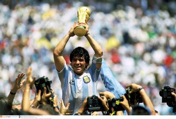 Viejas (y muy buenas) fotos de Maradona - 1ra parte