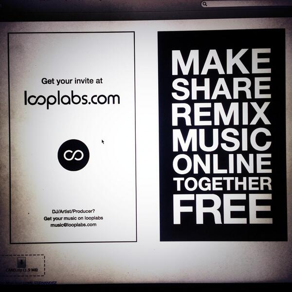 The future of music creation is coming soon. #looplabs sign up! http://t.co/hhRkscgr6z