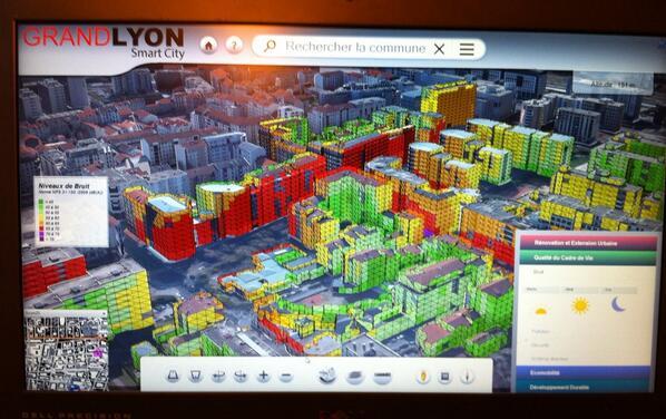 Igo on twitter simulation 3d du bruit smartcity lyon for Simulation 3d salon