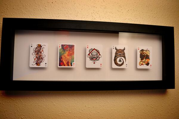 People frame cards and put on the wall. @musketon @fabciraolo @j3concepts @andreaspreis @rulzoe http://t.co/pTE0wecgJb