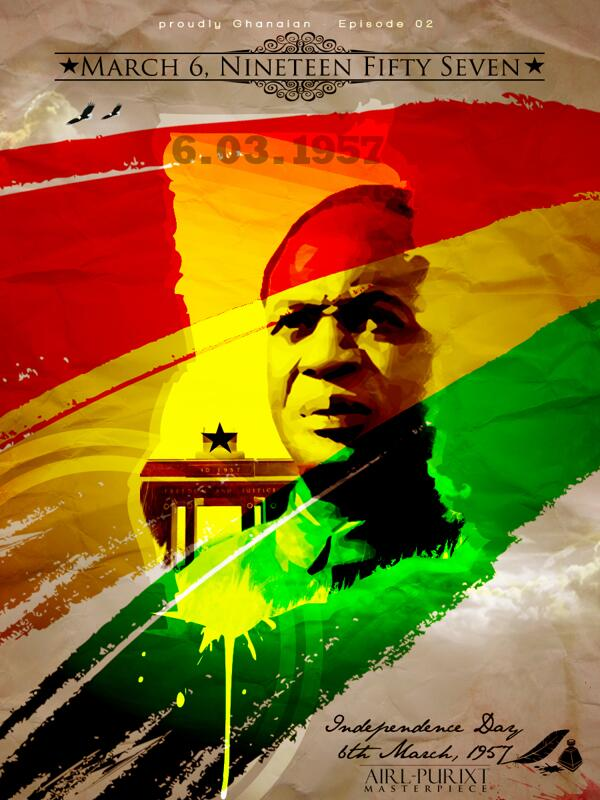 Happy Birthday Ghana! another moment to celebrate as we come closer to full economic and intellectual independence. http://t.co/QTzdmBCBsK