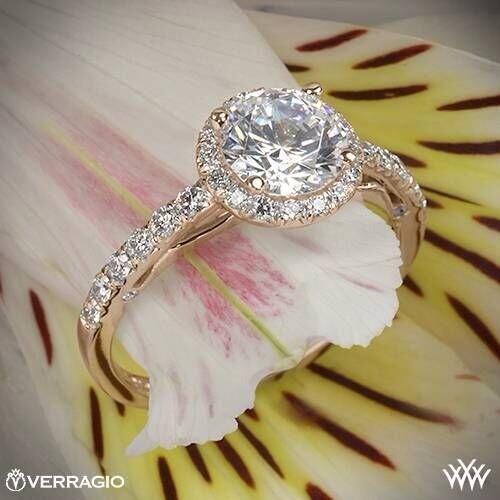 """Whiteflash Diamonds on Twitter """"Blushing beauty 20k Rose Gold verragi"""