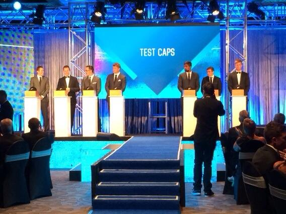 Those Test cap-ees... #anznzcawards ^RI http://t.co/IYRa3VpOof