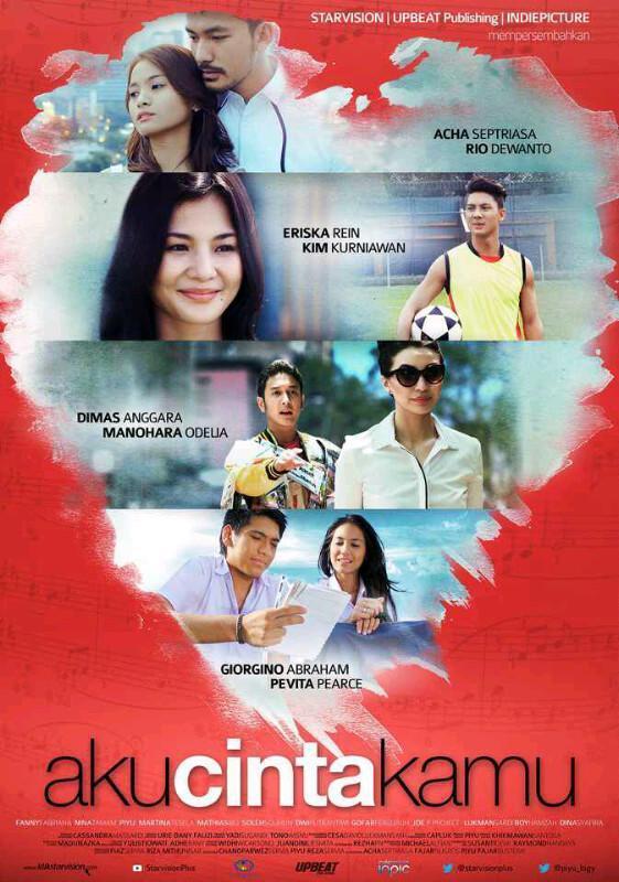 Film Aku cinta kamu. Hari ini tayang perdana di bioskop kesayangan kalian! 6 maret ♡ nonton dan comment ya ;) http://t.co/JHlTgr7aYE