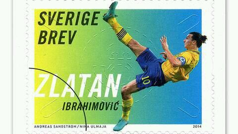 Zlatan's goal against England is set to feature on a series of stamps- to be released later this month http://t.co/pTfjR8RTUM