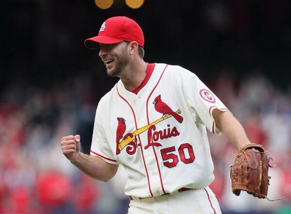 Adam Wainwright is making his first start of #SpringTraining today! #ace http://t.co/Ocuq9Pyurc