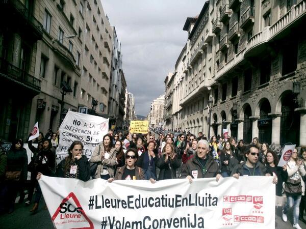 Jornada de Vaga del Sector del Lleure Educatiu i Sociocultural
