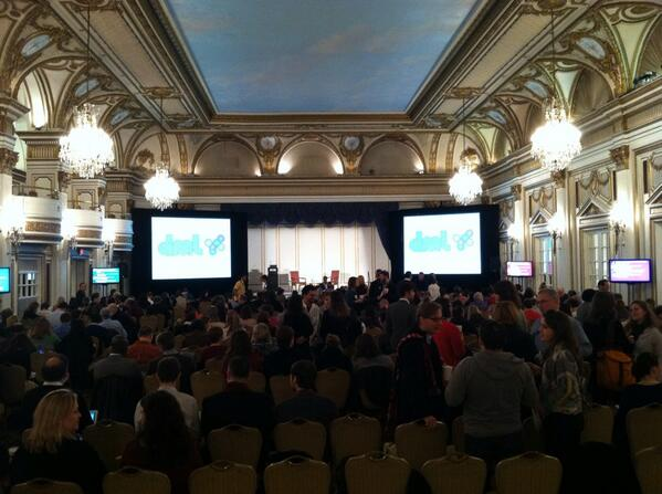 Glad to be here! At #dml2014 http://t.co/dcYsEFbggm