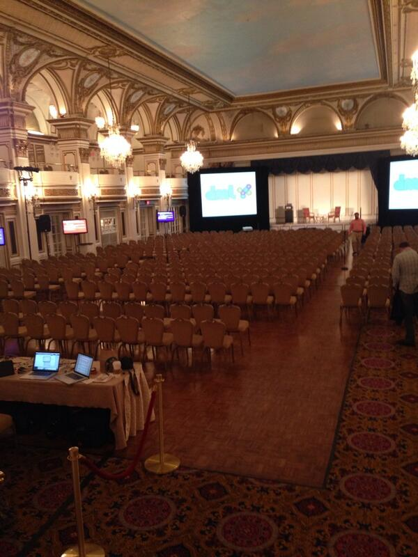 "That's a big room! Looking forward to the #DML2014 Conference ""connecting practices"" with @iEARNUSA team http://t.co/39mnhEbXLI"