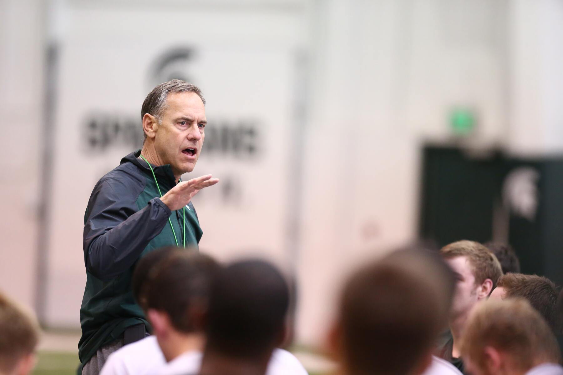 Twitter / MSU_Football: Mark Dantonio addresses his ...