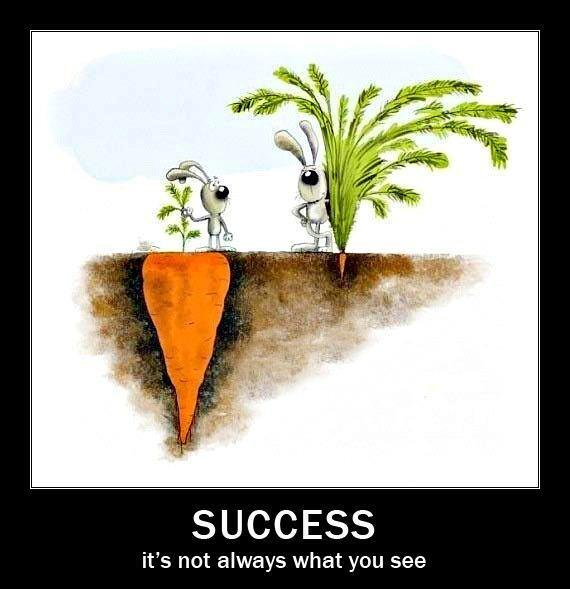 Success it is not always what you see http://t.co/DwVkuSOGjY