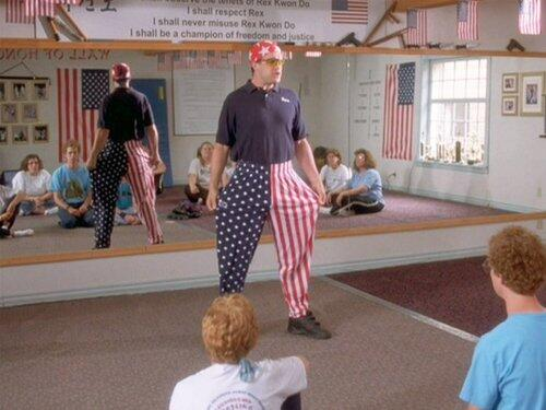 You think anybody wants a roundhouse kick to the face while I'm wearing these bad boys? Forget about it. #TFM http://t.co/9Cy79ICSif