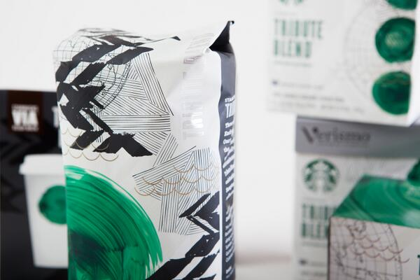 .@Starbucks created #TributeBlend to celebrate the company's 40th anniversary: http://t.co/uVeLpV3ERF #Packaging http://t.co/C5w4gB4Jf7