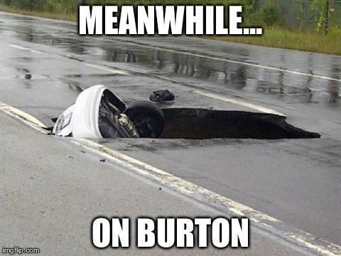 lol, potholes in GR http://t.co/jXajLAd2Do