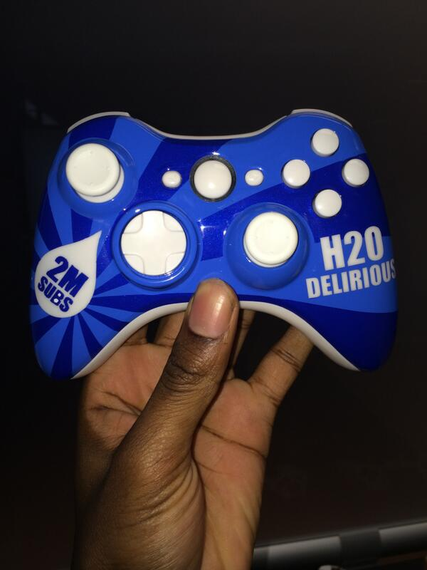 "H2O Delirious on Twitter: ""I need to sale hockey masks and ... H20 Delirious Controller"