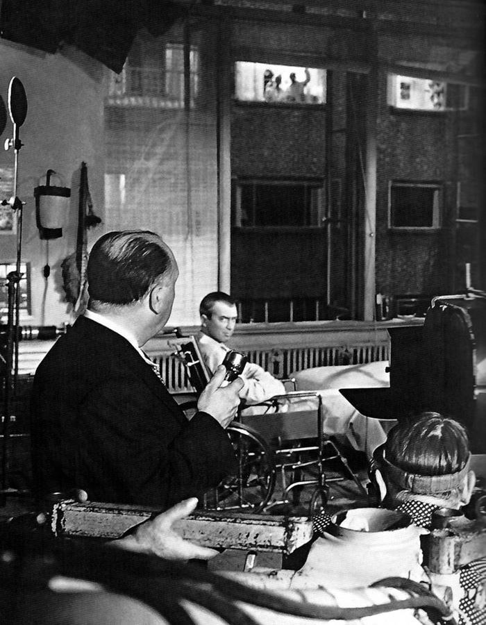 Twitter / FilmHistoryPics: Rear Window: Hitchcock controlled ...