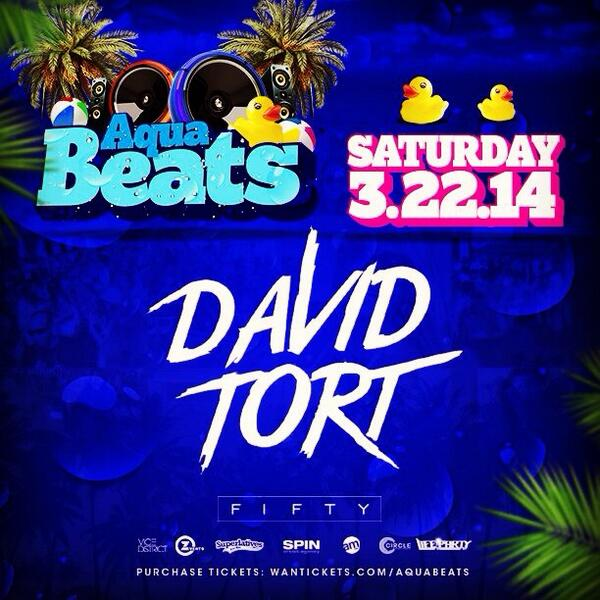 "Buy tickets, book tables! #AquaBeats @FIFTYMiami is goin 2 B wild. #MMW #WMC use ""VJD"" & SAVE! http://t.co/QWryUSTCln http://t.co/CsXBfP6zi3"
