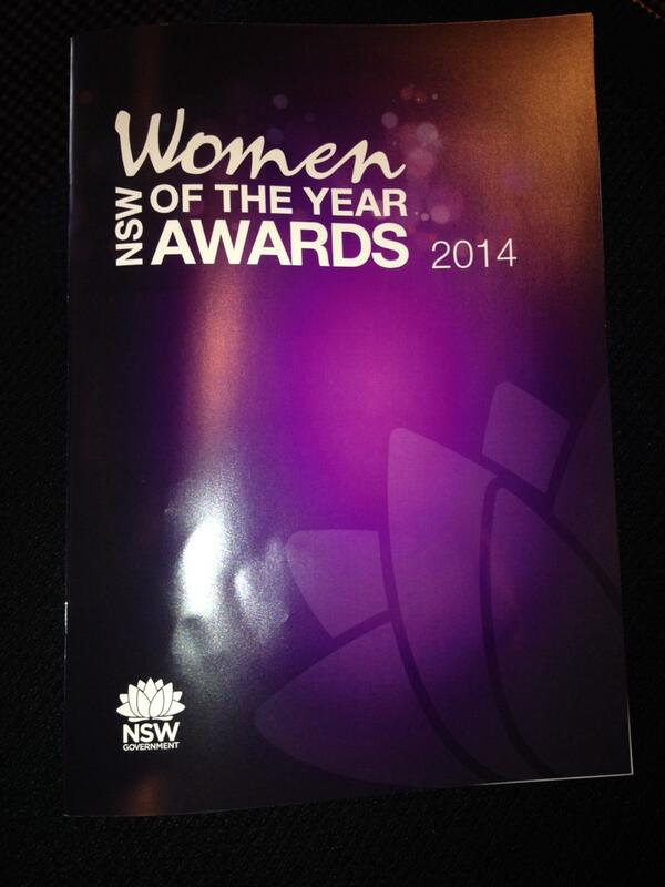 #WomenofYearAwards 2014 kicking off. Great inclusive Welcome to Country by Donna Ingram http://t.co/CbkL2vhsGH