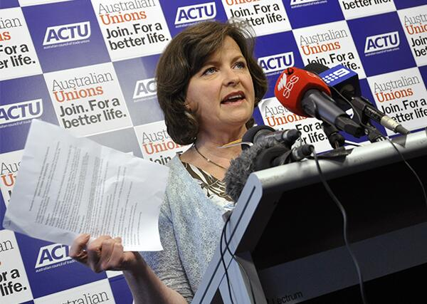 """""""The Fair Work Act is not red tape. The FWA is blue ribbon protection for workers."""" - @GedKACTU. #ausunions #auspol http://t.co/KYhmxTNU5a"""